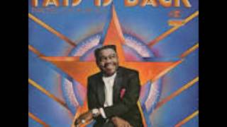 Fats Domino  -  Fats Is Back  -  [Studio album 28]  Reprise  RS 6304