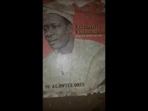 AKANNI ANIMASHAUN - Alawiye Orin