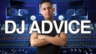 DJ TIPs & Advice: How to become a CLUB DJ? | How to MC a PARTY | STUDIO TOUR (Q&A - GIG LOG)