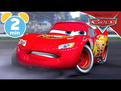 Cars | Best Piston Cup Wipeouts | Disney Junior UK