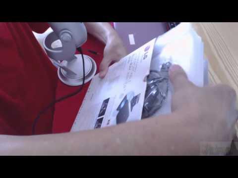 Grabadora Blu ray LG BP40NB30 Externa Unboxing
