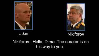 Intercepted conversation between Wagner-Utkin and 58th Army of RF commander Nikiforov