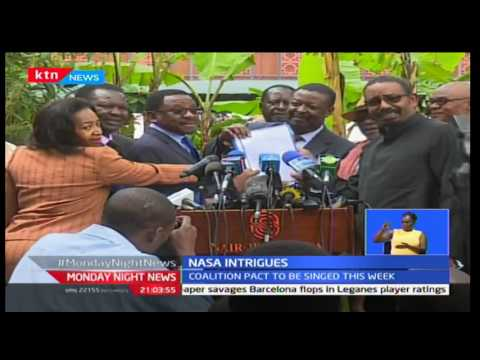 Unveiling of NASA flag bearer to wait as principals still discussing rules of agreement