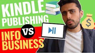Kindle Publishing vs Infobusiness   Cosa è Meglio Iniziare per Guadagnare Online?