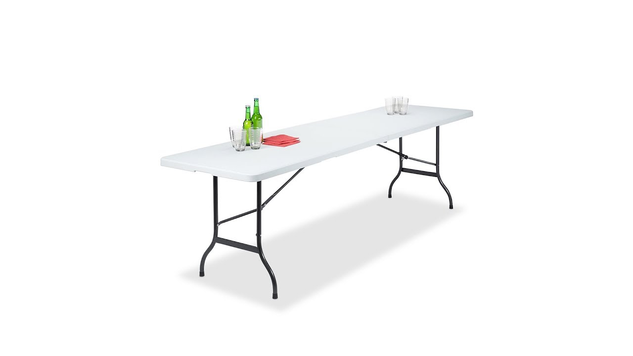 Gartentisch Klappbar Weiss Hier Kaufen Relaxdays De