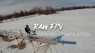 Raw FPV Footage (Flight & Crash Compilation)