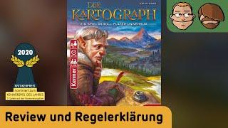 Der Kartograph - Brettspiel - Review und Regelerklärung