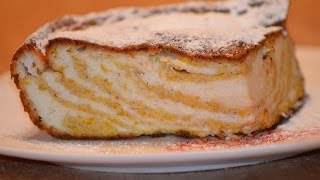 Запеканка из тыквы с творогом - вкусная творожная запеканка./Baked pumpkin with cream cheese.