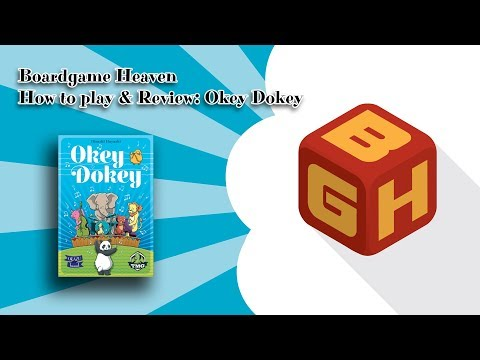 Boardgame Heaven How To Play & Review: Okey Dokey