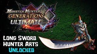 MHGU - Unlocking Long Sword Hunter Arts