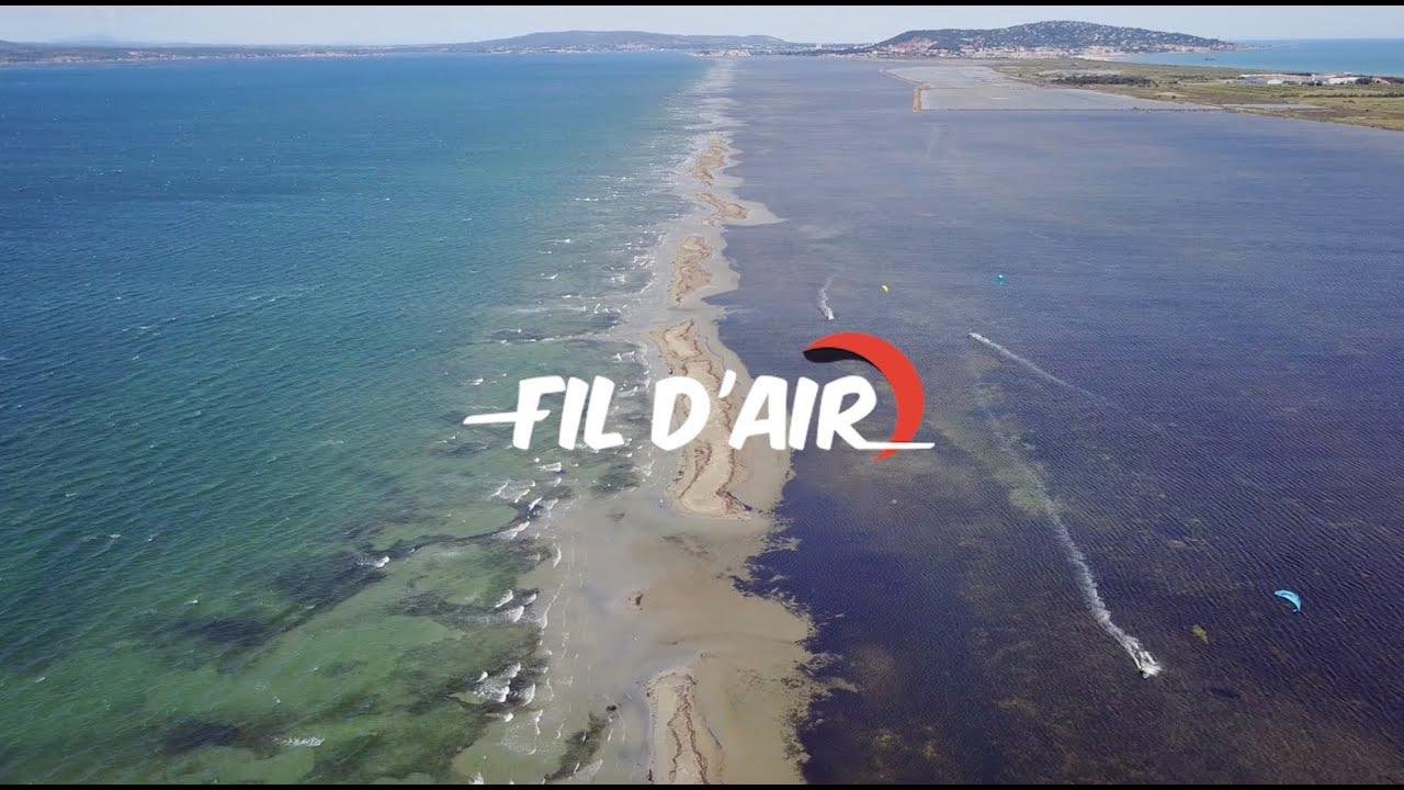 Teaser école de kitesurf Fil d'Air