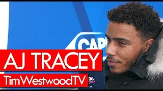 AJ Tracey On New Album, Goat Cover, Cadet Passing Away, Giggs, His Style, Tour   Westwood
