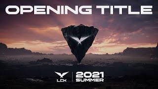 Le teaser d'ouverture de la LCK Summer Split saison 2021
