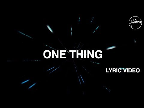 One Thing Hillsong
