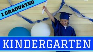 Kindergarten Graduation During Remote Learning