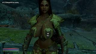 Skyrim (mods) - Helena - Spotlight On: Asherz - Reza the Storm Druid Follower