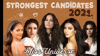 MISS UNIVERSE 2021 - STRONGEST CANDIDATES (TOP 15 FINALISTS)