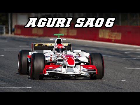 2006 SUPER AGURI SA06 F1 - Cosworth V10 (Zolder 2019)