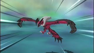 Pokemon Ultra Moon - Legendary Pokemon Yveltal Encounter