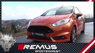Video: Remus Auspuffanlage ab Kat für Ford Fiesta ST MK7