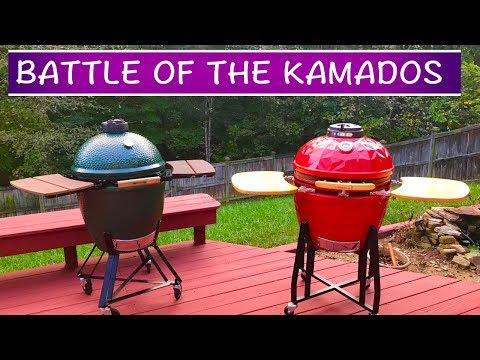 Big Green Egg vs. Vision Grill – BATTLE OF THE KAMADOS