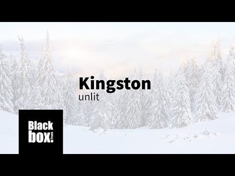 Black Box Kingston Green kunstkerstboom 185 cm