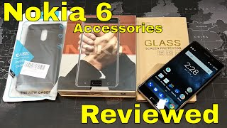 Nokia 6 - Case and Tempered Glass Screen Protector - Reviewed