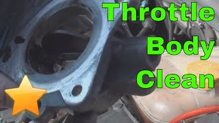 How to: Clean your Sticking Throttle Body