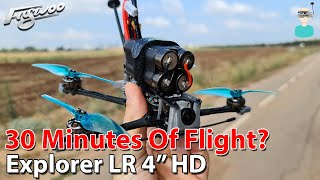 Fly For 30 Minutes? Flywoo Explorer LR - Setup, Review & Flight Footage