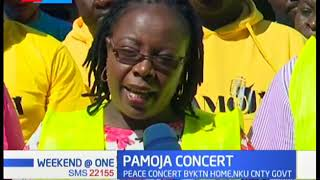 Pamoja Peace Concert by KTN Home takes place in Nakuru town