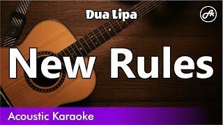 Dua Lipa   New Rules (Acoustic Cover With Lyrics)
