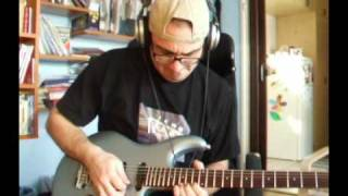 Steve Lukather - Brodie's guitar solo COVER