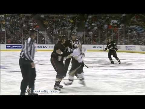 Deryk Engelland vs George Parros