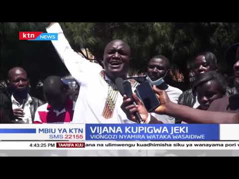 """Tutaleta tax zetu kwako unaziombea"", Hilarious message from a youth leader to the Nyamira Governor"