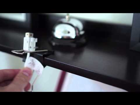 Attach Cables To The Edge Of Your Desk With Binder Clips