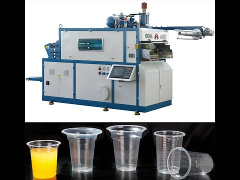 Thermoforming Plastic Glass Making Machines
