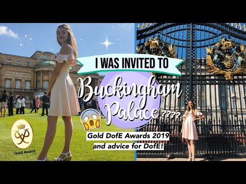 Gold DofE Awards 2019: Buckingham Palace!! 🙈