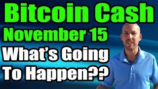 Bitcoin Cash - Nov 15 Hard Fork UPDATE [Part 2] - What