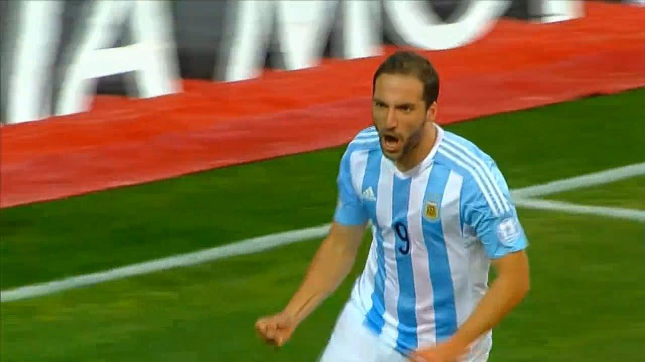 Argentina Campeón de América Chile 2015