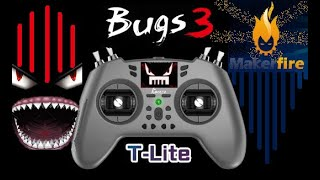 MJX BUGS 3 Flight on Makerfire T-Lite Multiprotocol Controller Mild Wind Brushless Drone Test Review