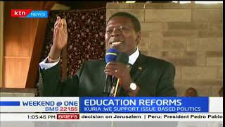 Water and Irrigation CS Eugene Wamalwa calls on Kenyans to accept the new curriculum