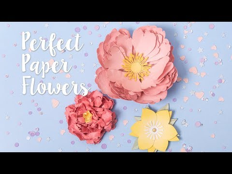 How to create perfect 3D paper Flowers with Katie Skilton