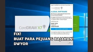 Urgent Coreldraw x7 Has Switched To Viewer Mode - Video hài