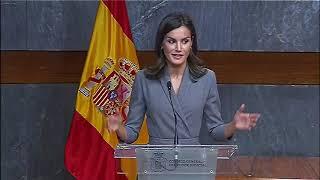 Palabras de SM la Reina en la recepción del Premio del Observatorio contra la Violencia Doméstica