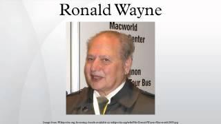 Ronald Wayne