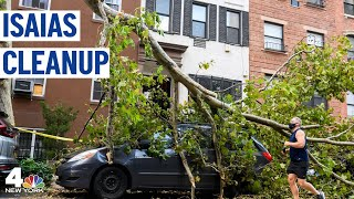 EF1 Tornado Confirmed as Tropical Storm Isaias Cleanup Continues | NBC New York