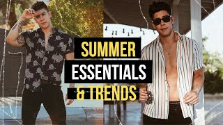 Top 5 Men's Summer Fashion Trends & Essentials 2020 🔅 Under $100?!   JairWoo