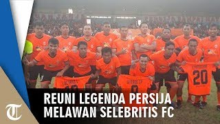 Keseruan Legenda Persija Jakarta Reuni di Lapangan, Ketum The Jakmania Nostalgia
