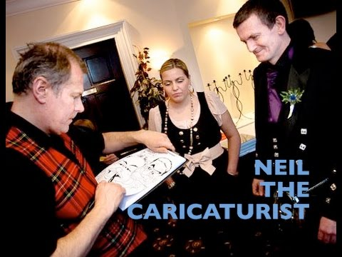 Neil The Caricaturist Video