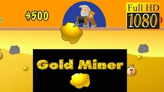 Gold Miner Game Review 1080P Official Senspark  Arcade 2016